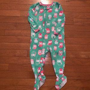 Owl Footie Pajamas